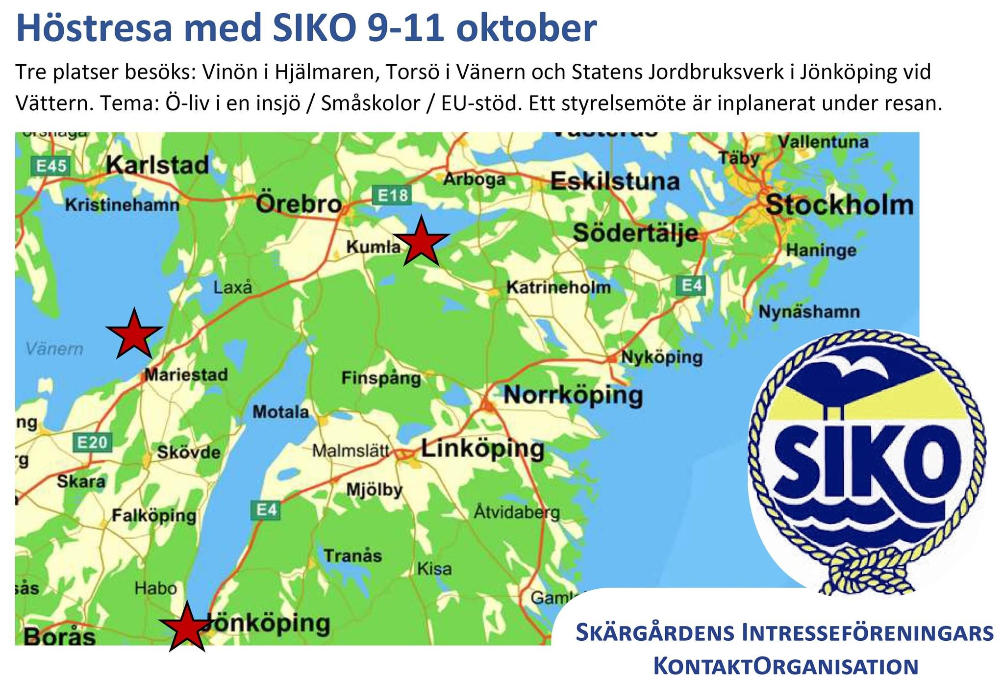 Sondag Resa Fran Norrtalje Och Stockholm Till Vinon Med
